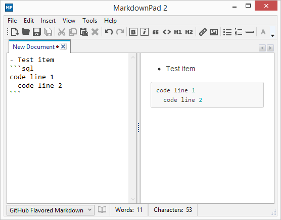 Export To Html Or You Can Also Use A Program Called Markdownpad 2 Pro The Version Allows Of Github Markdown In Its Options